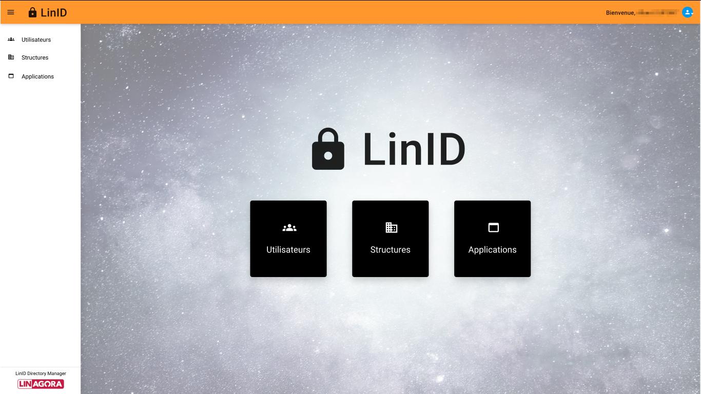 LinID page principale